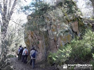Senderismo Segovia - Riberas de los ríos Pirón y Viejo; viajes puente de octubre; viajes en marzo